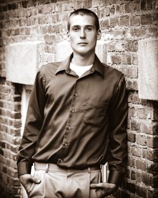 High School Senior Photo Boy