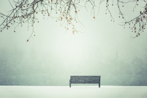 Front row seat to a winter wonderland