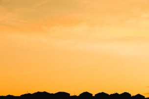 Gold Over Rooftops