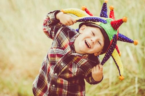Joyful boy.