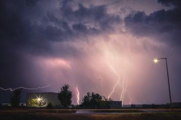 Thunderstorm in Tri-Cities, WA