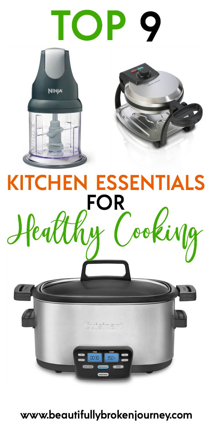 Here are my top 9 favorite kitchen essentials. Dinner can be stressful enough some nights, and these appliances and tools help make it much easier!