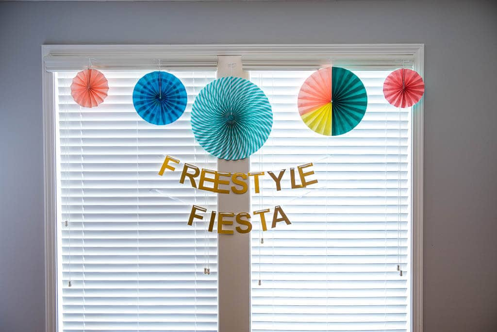 Decorations for Freestyle Fiesta