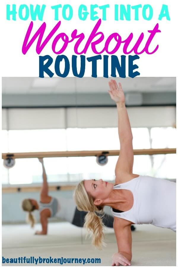 5 tips for how to get into a workout routine for the gym or for home for beginners.  A healthy balanced life is loving your workout too!  #exercise #workoutroutine #beginner #weightloss #healthylifestyle #healthylivingtips #healthytips #movemore
