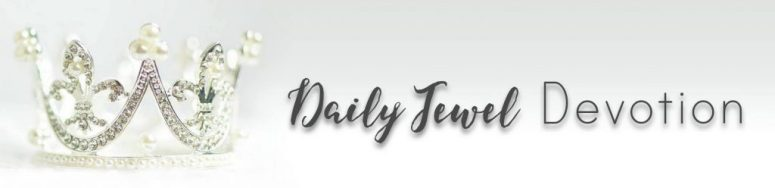 daily jewel devotion header