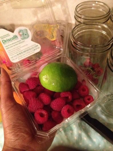 Raspberry Lime combo