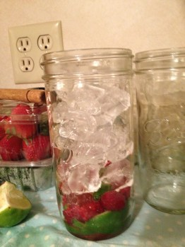 Add Ice to Fruit