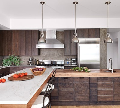 Modern Sag Harbor Kitchen