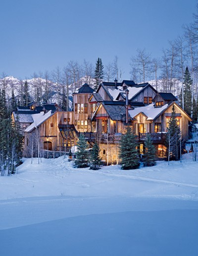 Nestled in the Mountains