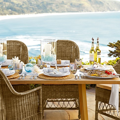 Genial Here Is Everything You Need For A Coastal Mediterranean Table Settingu2026 GET  THE LOOK