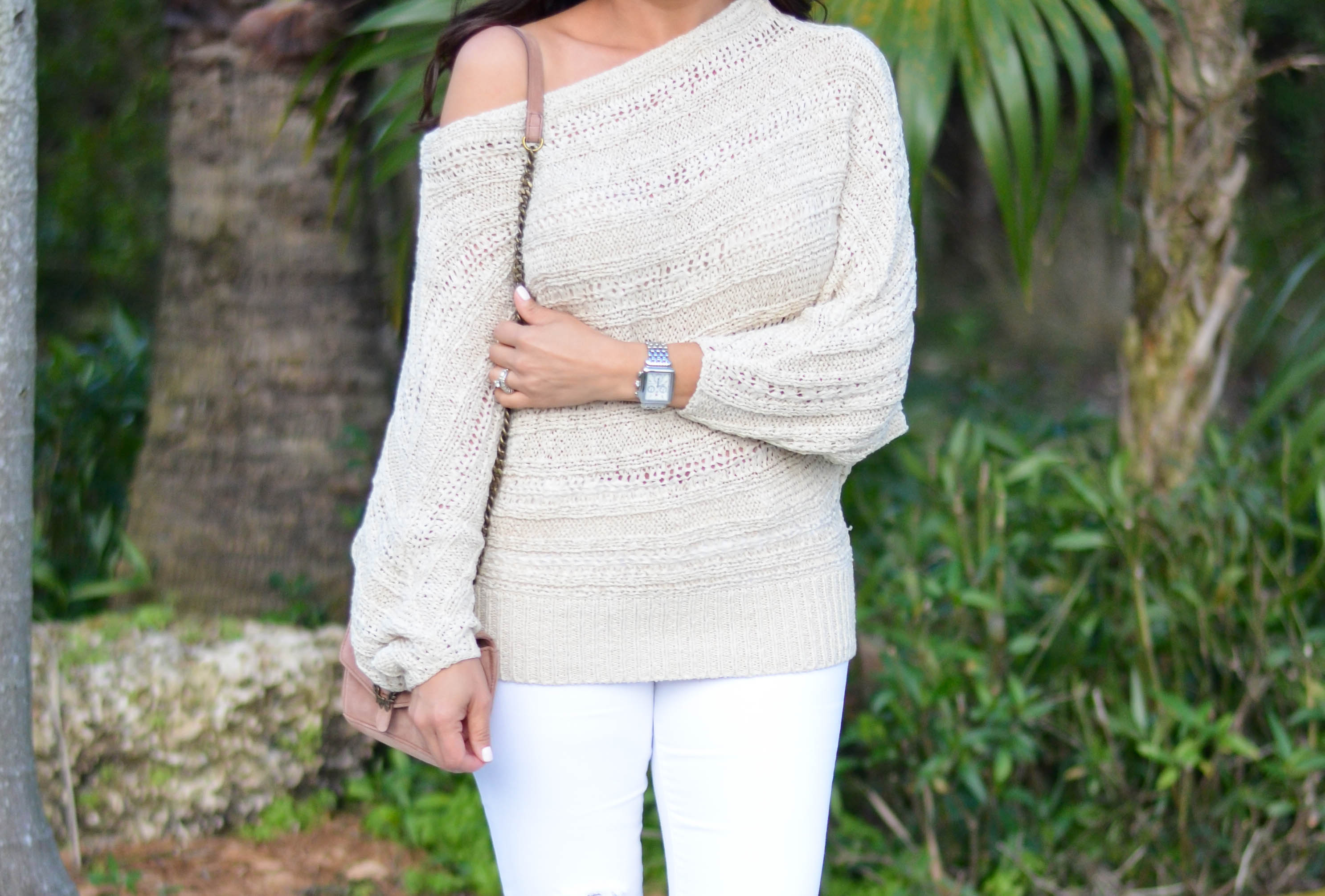 OFF THE SHOULDER SWEATER | Beautifully Seaside