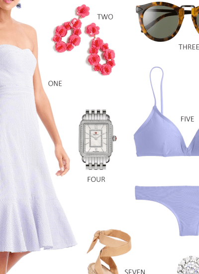 LOOKS I LOVE // WHAT TO PACK FOR A CARIBBEAN CRUISE
