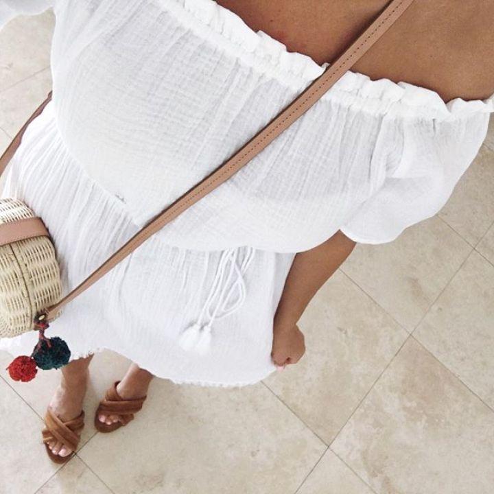 LOFT beach coverup dress
