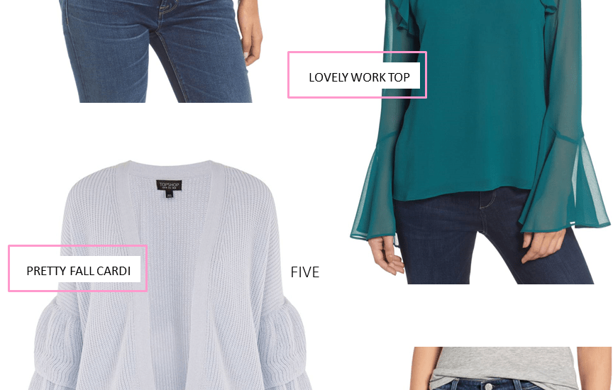 LOOKS I LOVE // FUN TOPS TO WEAR NOW + LATER