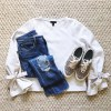 Beautifully Seaside- fall harvest casual outfit