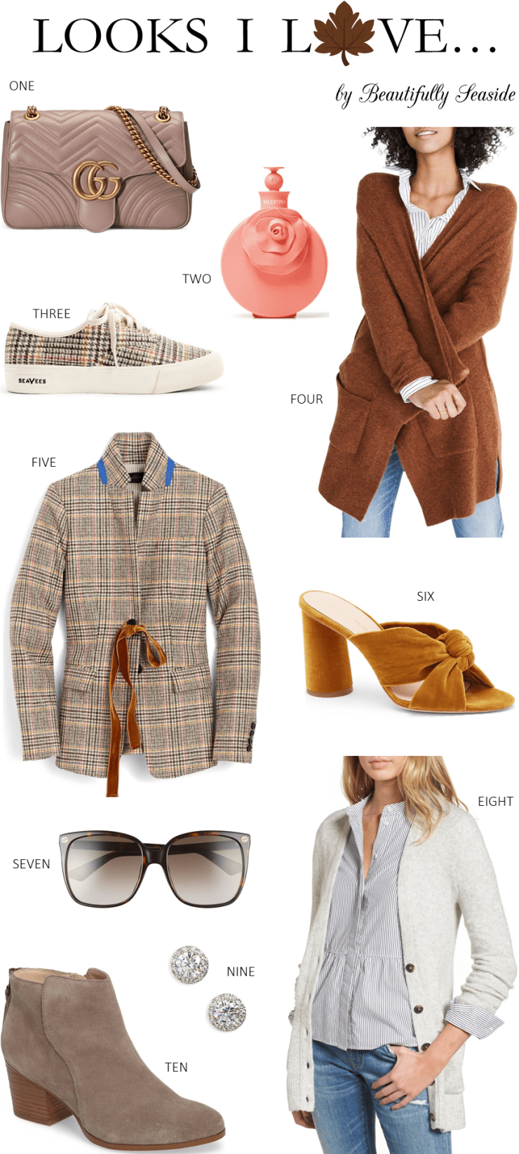 Lifestyle blogger Desiree features Fall Styles to try this season