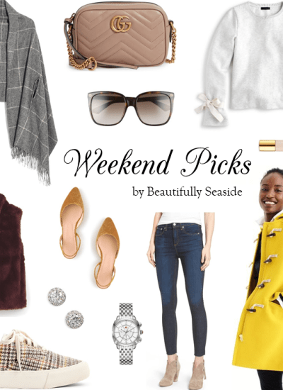 WEEKEND PICKS // GET EXCITED ABOUT FALL!