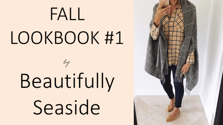 Lifestyle Blogger, Desiree of Beautifully Seaside, shares nice different outfits for fall, including styles from J.Crew.