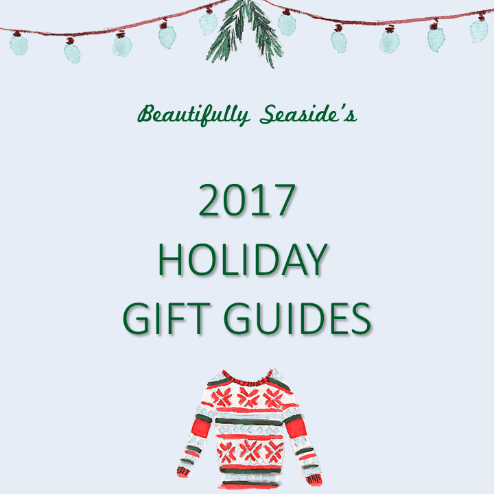 Beautifully Seaside 2017 Holiday Gift Guides