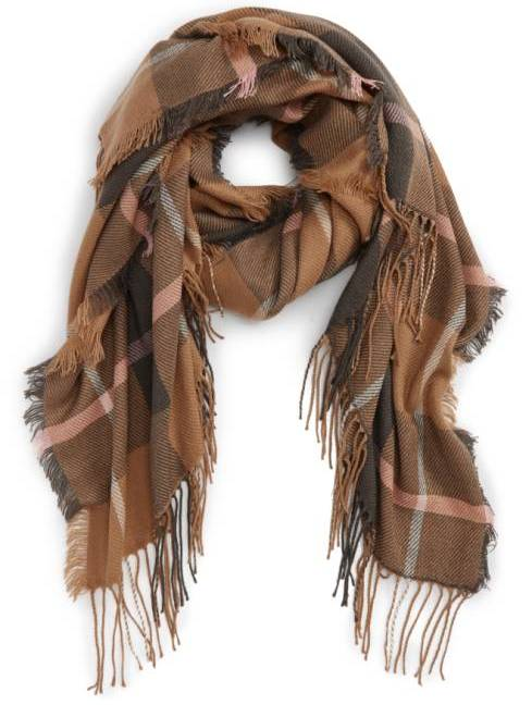 Madewell fall plaid scarf