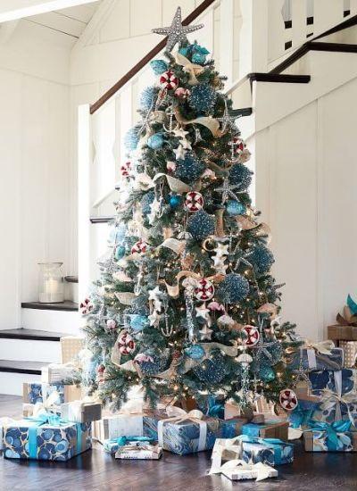 POTTERY BARN CHRISTMAS DECORATING IDEAS