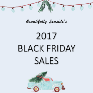 Beautifully Seaside Black Friday Sales