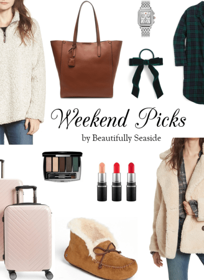 WEEKEND PICKS // COLD WEATHER STYLES