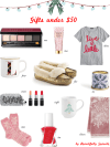 Christmas Gift Guide under $50