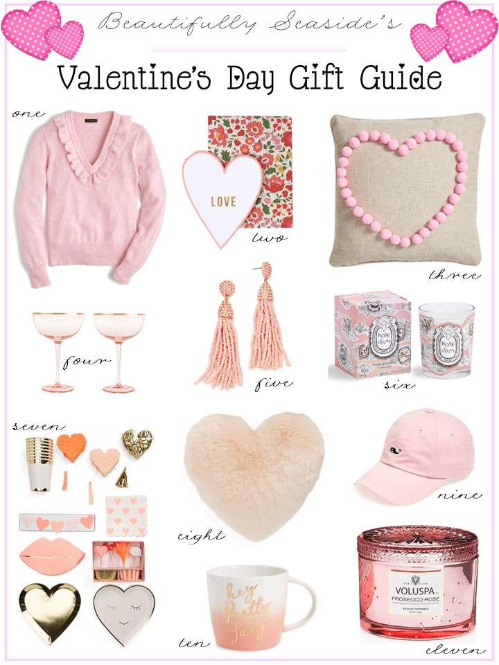 Valentine S Day Gift Guide 2018 Beautifully Seaside