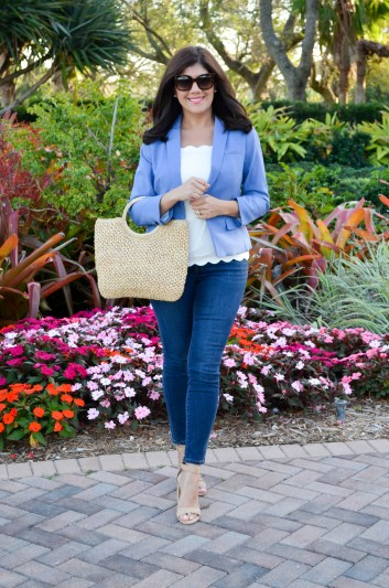 styling the perfect blazer for spring