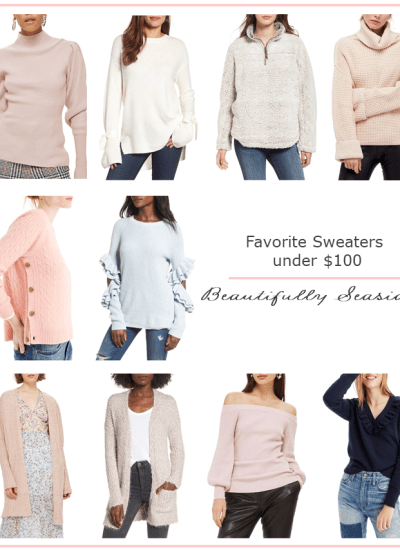 FAVORITE SWEATERS UNDER $100