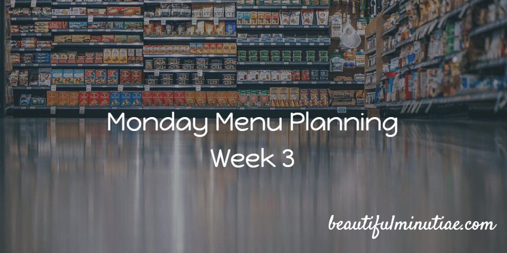 plant based meal planning