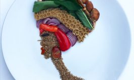 Meet Nigerian Blogger Who Creates Art From Food