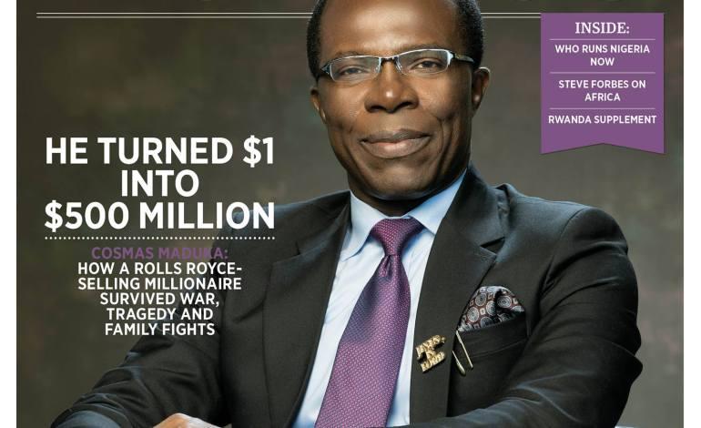 Richest Men in Nigeria: Cosmas Maduabuchukwu Maduka