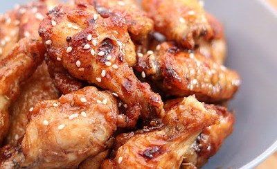 15 Minutes Sticky Honey Wings