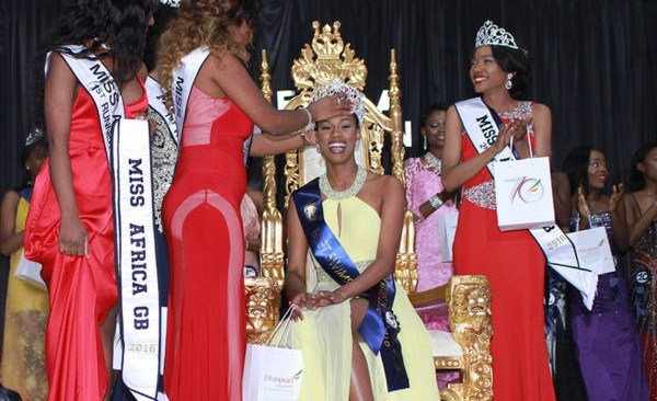 Nigeria's Sarah Jegede Becomes Miss Africa Great Britain 2016