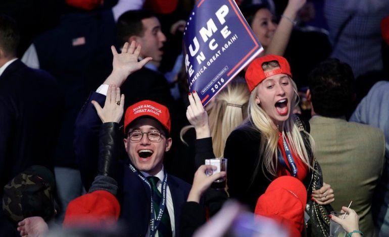 Donald Trump Beats Hillary Clinton To Take White House