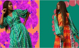 A Beautiful Colorful Resort, Nigerian Fashion Label Grey Presents Its New Collection