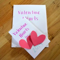 February Traditions + a DIY Heart Garland