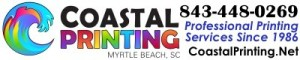 coastal printing myrtle beach, myrtle beach printers, professional printers myrtle beach, banner printing, sign printing, business cards, cheap flyers, postcard printing, marketing materials, business printing, car magnets, fast printing, quick printing, graphic design, yard signs, custom printing myrtle beach, 843-443-0269