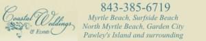 coastal weddings & events myrtle beach, sc