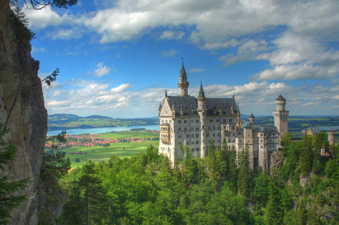 neuschwanstein castle germany beautiful places to visit