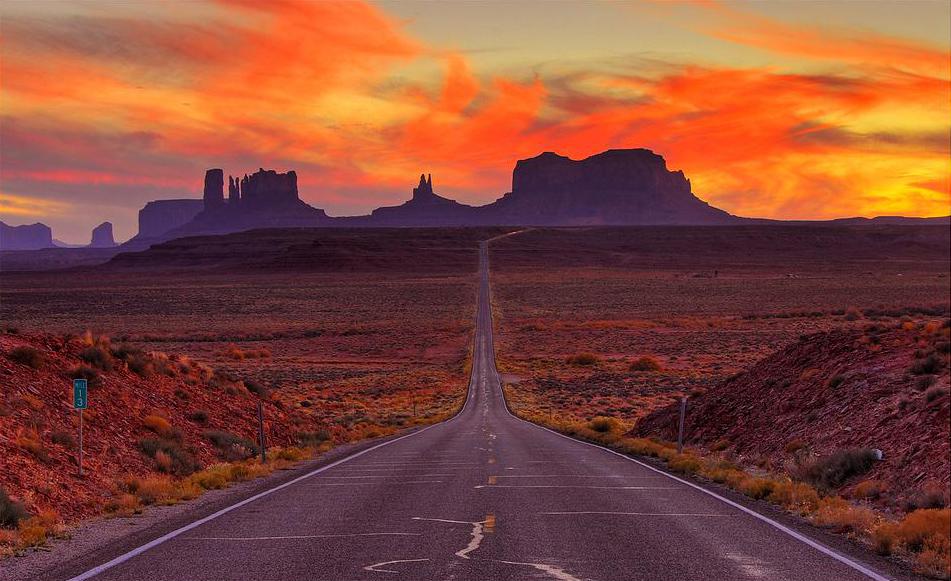 Canyon Vs Colorado >> Monument Valley, Arizona and Utah, USA - Beautiful Places ...