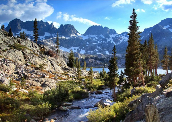 Shadow Creek, Ansel Adams Wilderness, Sierra Nevada, California