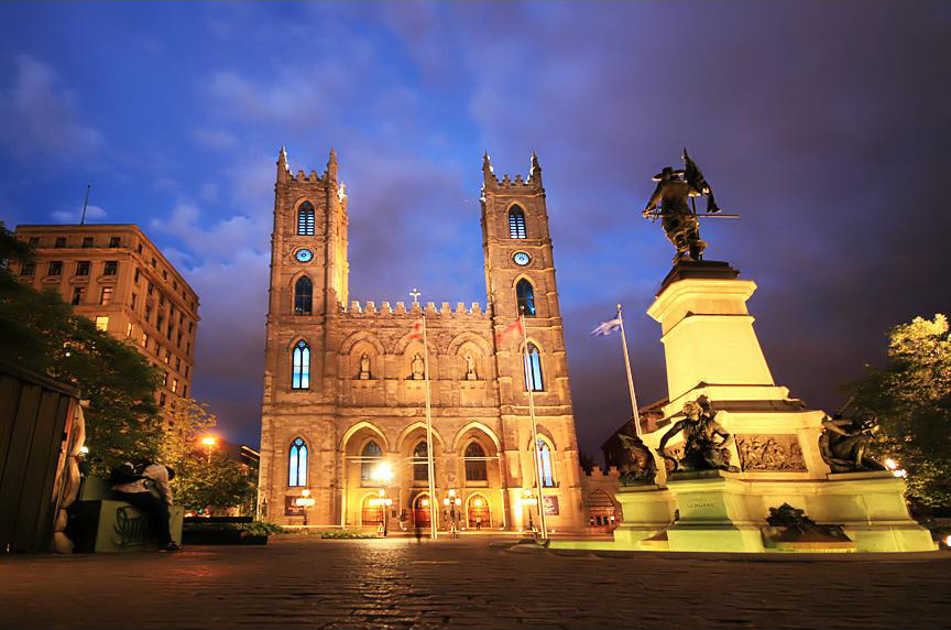 Notre Dame Basilica Montreal Quebec Canada Beautiful Places To Visit
