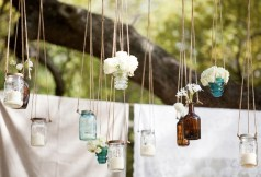 hanging-mason-jars-mason-jar-decor-storage-ideas-for-small-space-in-white-linen-decor-for-white-wall-and-interesting-design-for-minimalist-space-saving-storage-decorated-mason-jars-with-nice-decor