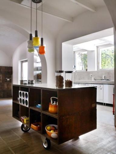 kitchen-kitchen-designs-fancy-elegant-neutral-cream-black-and-green-shade-kitchen-design-with-amazing-clean-black-marble-top-island-cool-kitchen-island-islands-lighting-furniture-tables-ikea-mova