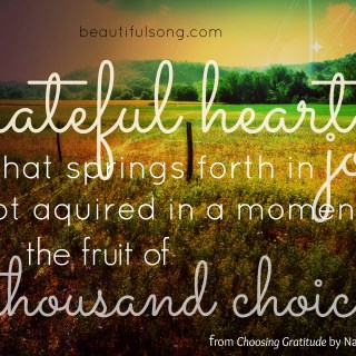 a good book {on gratitude}
