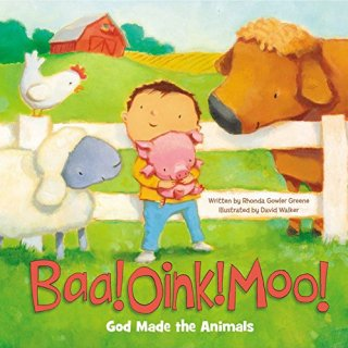 Baa! Oink! Moo! {a book review + tiny update}