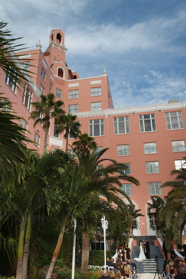 Outdoor St Pete Beach Wedding Ceremony at Loews Don CeSar